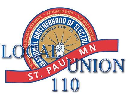 IBEW Local 110 logo