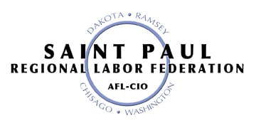 StPaul Regional Labor Fed logo